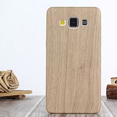 Wooden grain case for Samsung