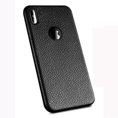 Leather back case for iPhone