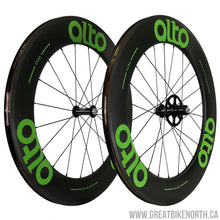 Alto CC86 86mm Carbon Clincher Wheelset-Great Bike North