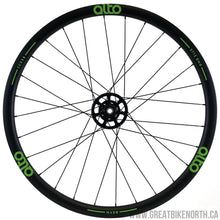Alto CCX28 28mm Carbon Clincher Gravel / Cross Wheelset Thru Axel-Great Bike North