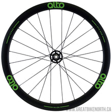Alto CCX40 40mm Carbon Clincher Gravel / Cross Thru Axel Wheelset-Great Bike North