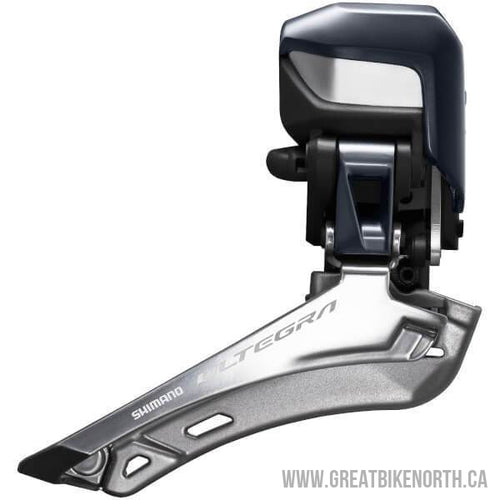 SHIMANO ULTEGRA FD-R8050 DI2 E-TUBE FRONT DERAUILLEUR - BRAZE ON-Great Bike North