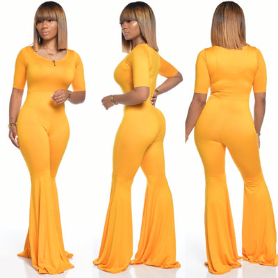 PASSIONS JUMPSUIT (GOLDEN YELLOW)