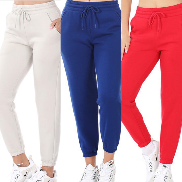 BOLD BASIC SWEATPANTS