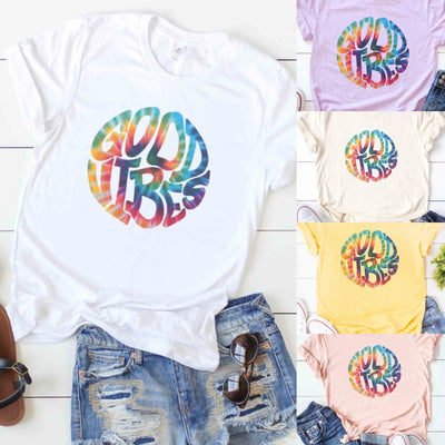 GOOD VIBES GRAPHIC TEES