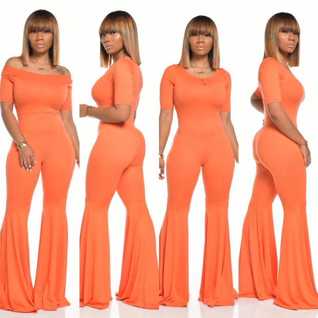 PASSIONS JUMPSUIT (ORANGE)