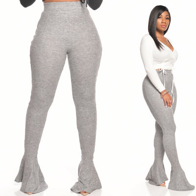 CASHMERE PANTS (GRAY)