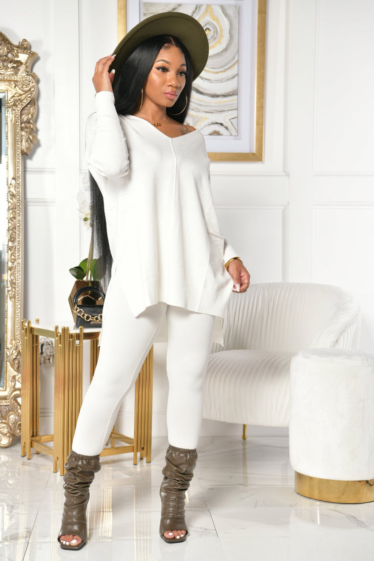 A COZY SLEIGH SET (IVORY)