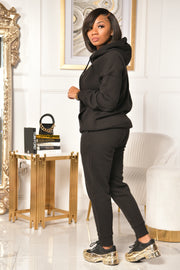 BASIC K SWEATSUIT (BLACK)