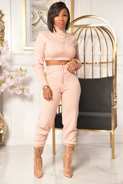 SWEATER WEATHER SET (PINK)