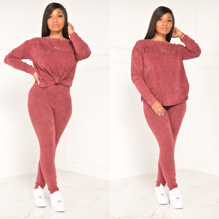 MINERAL FALL BASIC SET (BURGUNDY)