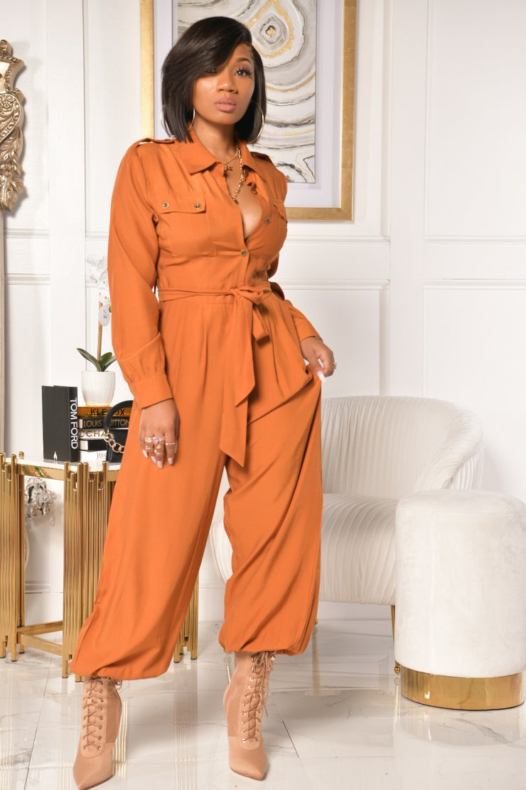 ZOE JUMPSUIT (GINGER)