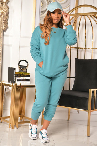 MINT TO BE SWEATSUIT