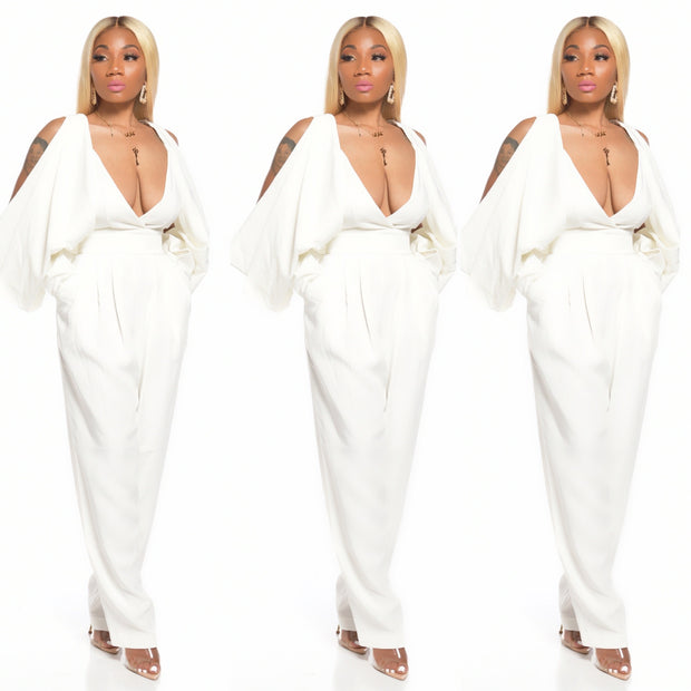 PRETTY WINGS JUMPSUIT (WHITE)