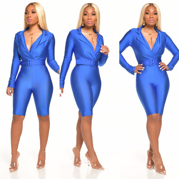 NIA ROMPER (ROYAL BLUE)