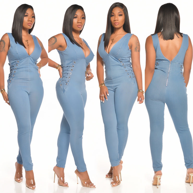 TRUE DENIM JUMPSUIT