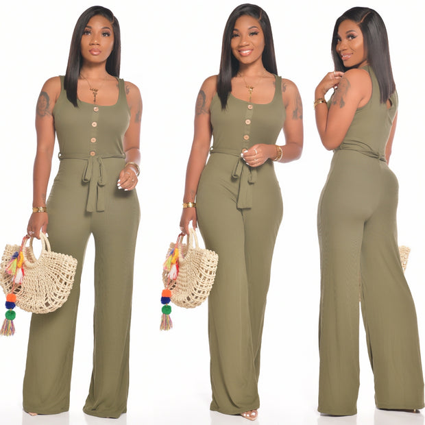 MILEY JUMPSUIT (OLIVE)