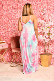 KOTTON KANDY MELANIE MAXI  (BLUE/PINK)