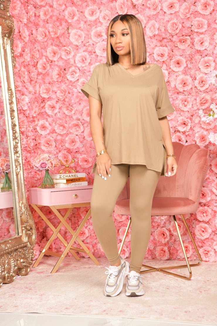 BASIC COMFORT SET KHAKI