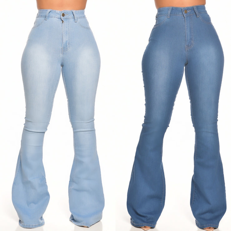 YOU need these DENIM FLARES