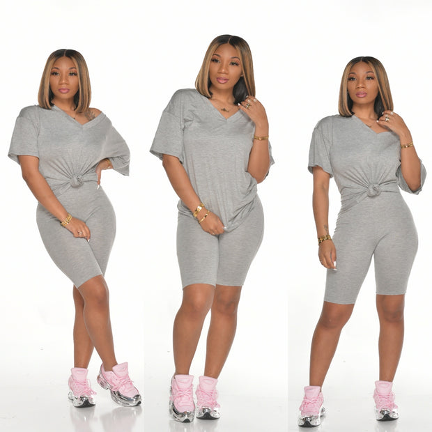 V NECK BASIC SET
