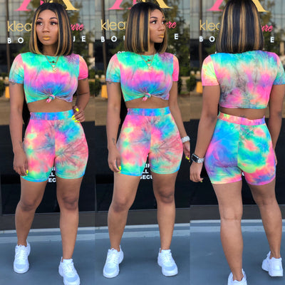 Cotton Candy SHORTS SET