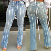 Denim Striped Jeans
