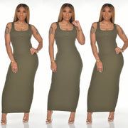 Basic Ribbed Maxi