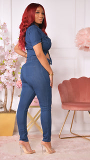 Tonya Denim Jumpsuit