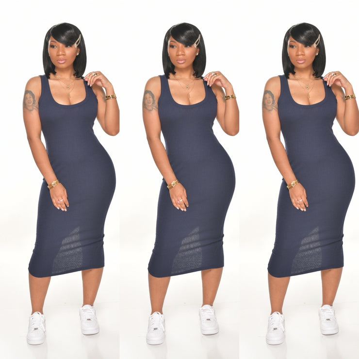 BASIC RIBBED MIDI SIZES XL