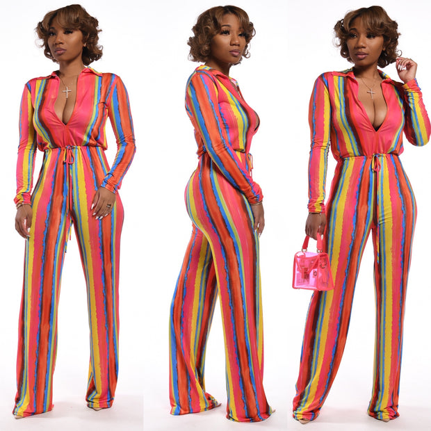 Stripes so sweet Jumpsuit