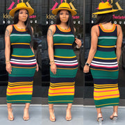 Stripe Me Down Midi