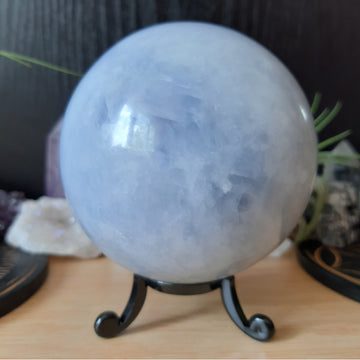 Blue Calcite Sphere - BCA
