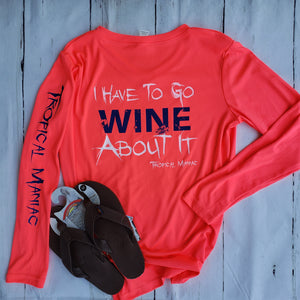 Wine About It Performance V-neck