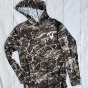 Elements Wave Camo Long Sleeve Performance Hoodie