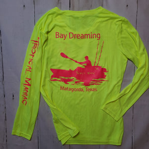 Bay Dreaming Ladies Performance V Neck
