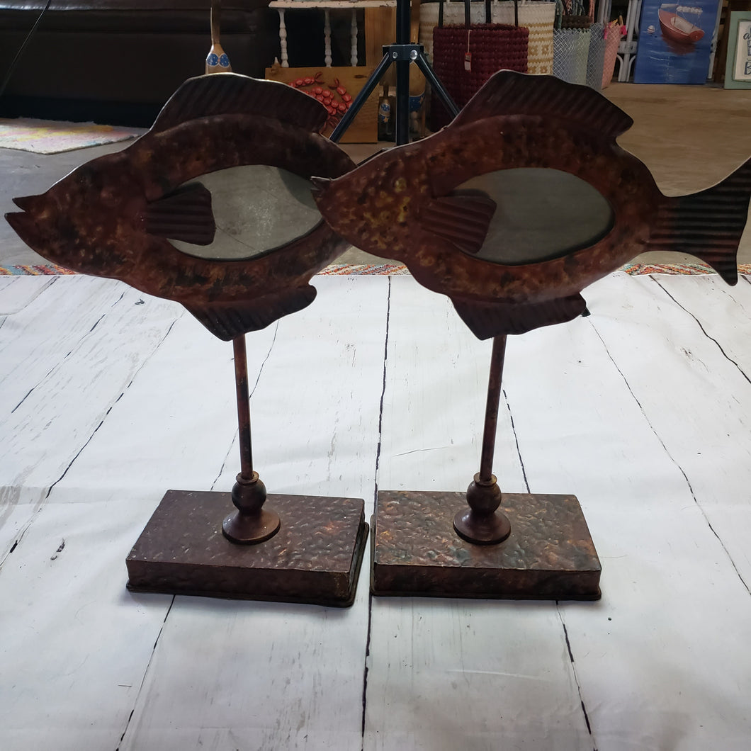Bronze Fish Picture Frame