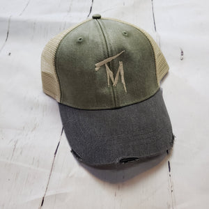TM Tan & Olive Hat