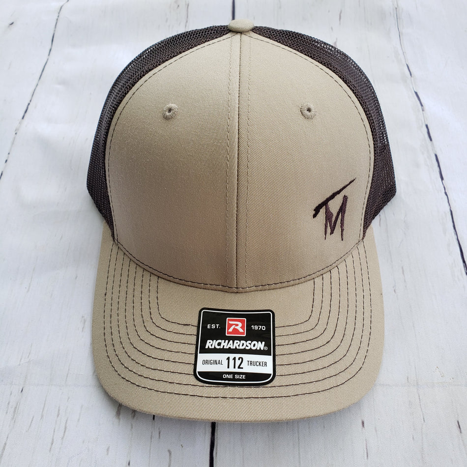 TM Brown & Tan Hat