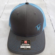 TM Light Blue & Grey Hat