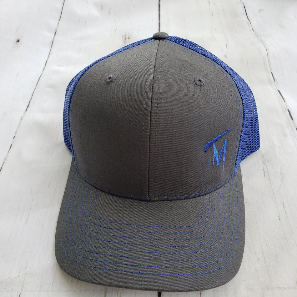 TM Dark Blue & Grey Hat