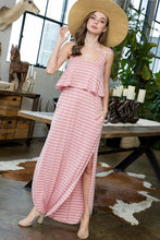 SweetLovely Striped Maxi Dress