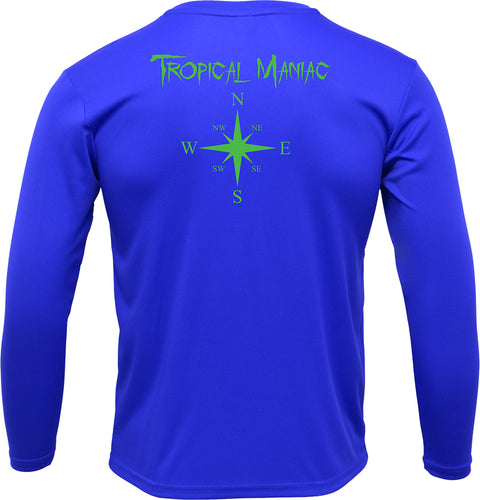 Compass Rose Youth Performance Tee
