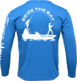 "Tropical Maniac ""Seize the Bay"" Long Sleeve Performance Crew Neckor"