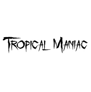 "Tropical Maniac 12"" Letter Decal"