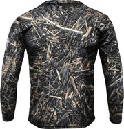 Tropical Maniac Driftwood Camo Performance Crew Neck