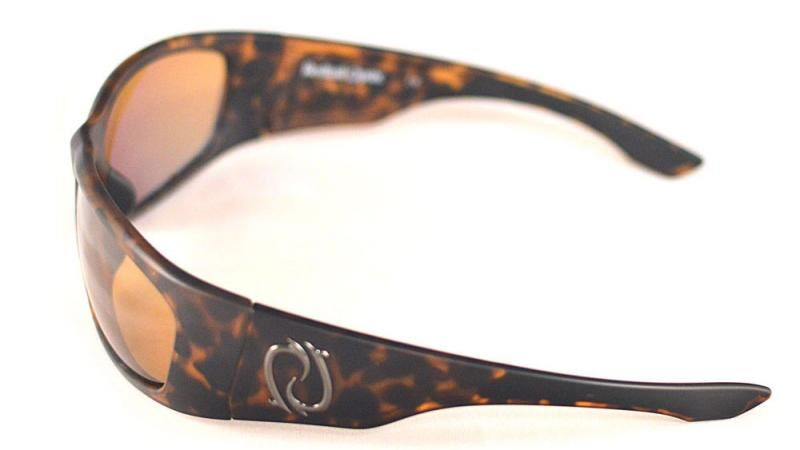 Redtail Republic Laguna Tortoise/Natural Amber Glass UV Polarized Unisex Fishing Sunglasses