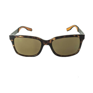Redtail Republic Matagorda Tortoise/Natural Amber Polycarbonate UV Polarized Unisex Fishing Sunglasses
