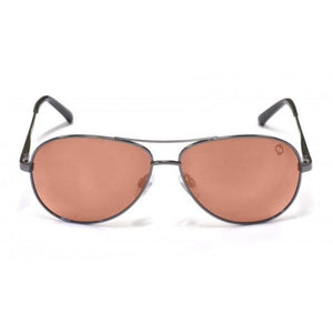 Redtail Republic Sandbar Gunmetal/Natural Amber Polycarbonate UV Polarized Unisex Fishing Sunglasses