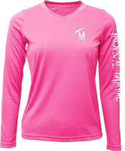 Ladies Seize the Bay Long Sleeve Performance V-Neck